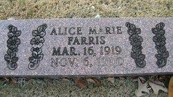 Alice Marie Farris