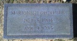 Marion Hugo Black