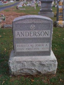 Rebecca A. <i>Sutton</i> Anderson
