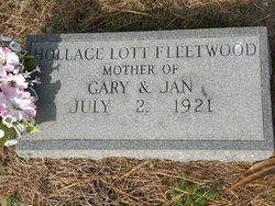 Hollace <i>Lott</i> Fleetwood