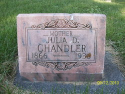 Julia Palmer Dean <i>Young</i> Chandler