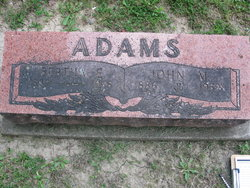 Bertha E <i>Williams</i> Adams