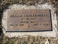 William Jasper Bud Faulkenberry
