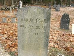 Aaron Carr