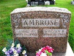 Adeline Belle Addie <i>Hicks</i> Ambrose