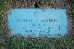Alphus E. Arthur