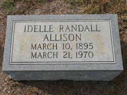 Idelle <i>Randall</i> Allison