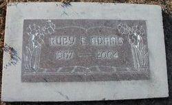 Ruby Elvina <i>Larson</i> Adams