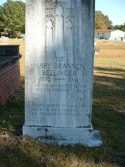 Mary Tit <i>Brannen</i> Bellinger