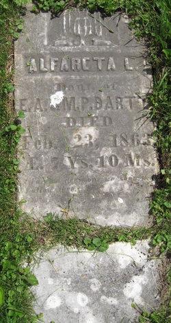 Alfareta Louisa Dart