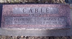 Evelyn B <i>Sieckman</i> Cable
