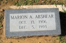 Marion A. Abshear