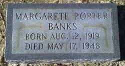 Margarete <i>Porter</i> Banks