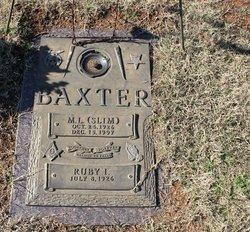 M L Slim Baxter