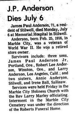 James Paul Anderson