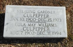 Lula May <i>Williams</i> Culpepper