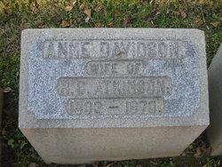 Anne <i>Davidson</i> Atkinson