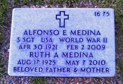 Sgt Alfonso E Medina