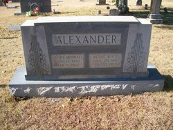 Bessie <i>White</i> Alexander