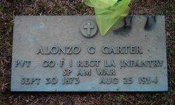 Alonzo C Carter