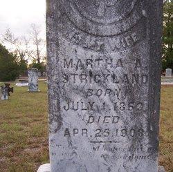 Martha Ann <i>Tucker</i> Strickland