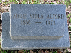 Addie Viola <i>Brooks</i> Alford