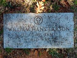 Lieut William Hans Larson