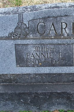 Frances Fannie Ellen <i>Keeth</i> Carroll