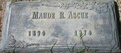 Maude Roberts Nannie <i>Moore</i> Ascue