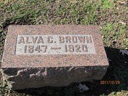 Alva C Brown