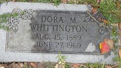 Dora M <i>Canant</i> Whittington
