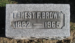 Ernest Ferdinand Brown