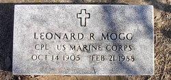 Leonard R Mogg