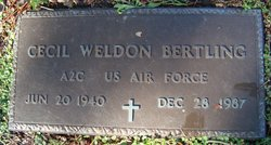 Cecil Weldon Bertling