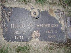Helen L. <i>Webb</i> Anderson