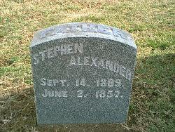 Stephen Alexander