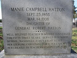 Manie Campbell Hatton