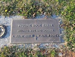 Pauline <i>Booe</i> Baker