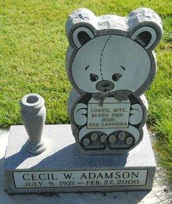 Cecil W <i>Rimbey</i> Adamson