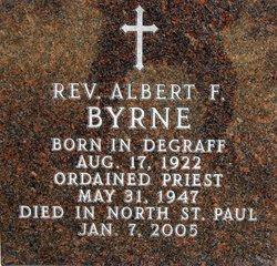 Rev Albert F Byrne