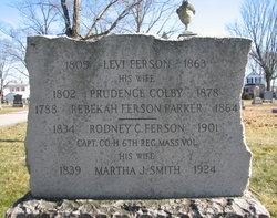 Martha J Mattie <i>Smith</i> Ferson