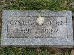 Cynthia Louise Cindy Arden