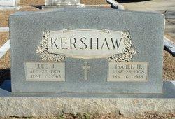 Isabel H Kershaw