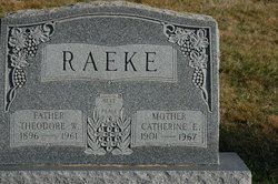 Catherine E. <i>Wakefield</i> Raeke