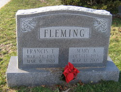 Mary A Fleming