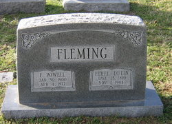 Ethel <i>Dulin</i> Fleming
