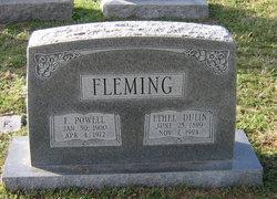 Ethel <i>Dulin</i> Fleming