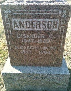 Lieut Lysander Anderson