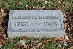 Elizabeth Eliza <i>Waller</i> Hawkins