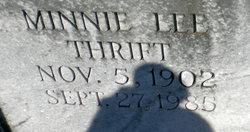 Minnie Lee <i>Thrift</i> Cox